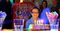 Have a one-of-a-kind #birthday party at Sahara Sam's! Sit in your own oversized lifeguard chair and rule the party! #saharasams