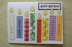 Birthday card for young women