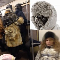 Furs in underground. #russianstyle #coldwinter #differentpeople #association #streetstyle #trendsquire.russia