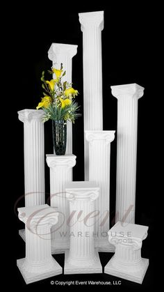 Empire Series Group - Shown in Picture: Empire Column Empire Column Empire Column Empire Column Empire Column Empire Column Empire Column Empire Column Empire Column