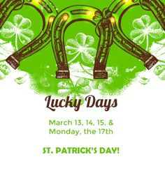 We're celebrating St. Patrick's Day with a 4-Day Sale! March 13, 14, 15 and Monday March 17th are your Lucky Days!   The ENTIRE STORE will be 25% OFF!! We will also have yummy hors d'oeuvres and wine to sip on.  #happy #stpatricksday #luckoftheirish #sale #luckyday #Scottsdale