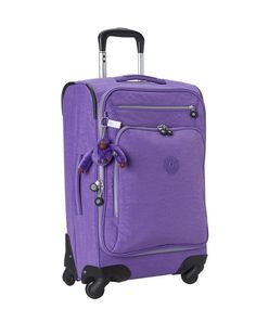 Colorful Carry-On Luggage - Kipling Spinner in Purple