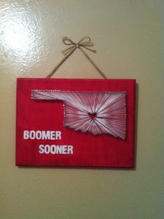 I would love to do this, not with the icky Sooner stuff, but with Razorbacks and Arkansas!!