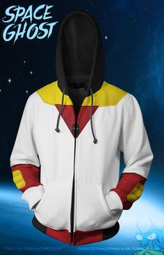 Space Ghost Hoodie! [WIP] by prathik.deviantart.com on @DeviantArt