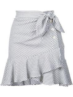 Shop online Veronica Beard knotted skirt as well as new season, new arrivals daily. Dress Outfits, Cute Outfits, Fashion Outfits, Fashion Trends, Fashion Women, African Fashion Dresses, African Dress, Veronica Beard, Gray Skirt