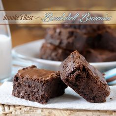 Exactly as the title indicates - The bomb! Brownies that live up to their name. #MyAllrecipes #brownies