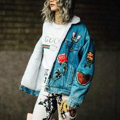 いいね!8件、コメント1件 ― Sew In Styleさん(@style_to_fit)のInstagramアカウント: 「#fashionhautecouture #red #boss #details #style #gucci #guccijacket #women #womenmenfashion」