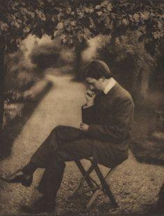 Portrait of Alvin Langdon Coburn   Shaw, George Bernard, b.1856-1950  Camera Work XV, 1906