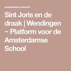 Sint Joris en de draak   Wendingen ~ Platform voor de Amsterdamse School