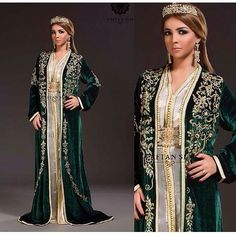 قفطان Morrocan Dress, Moroccan Caftan, Moroccan Style, Caftan Gallery, Kaftan Abaya, Arab Fashion, Mexican Dresses, Desi Clothes, Traditional Dresses