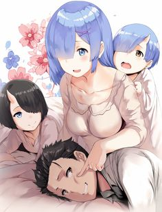 Loved it is one off the Bests I found until now great job I was never expecting to see rem and Subaru picture with children