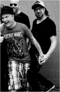 Corey Taylor and Jim Root