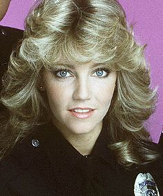 Heather Locklear s Changing Looks   the seventies   Pinterest     Heather Locklear   TJ Hooker   the Farrah feathery
