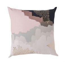 Pastel Wash w Gold Cushion-cushions-cravehome