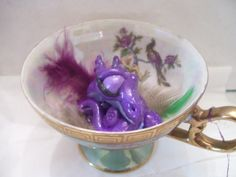 If you happen to have teacups laying around that you don't use on a regular basis, keep an eye on them. For the Teacup Dragon will make a home of them.