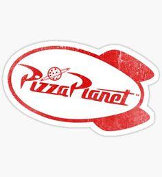 Pegatina Pizza Planet