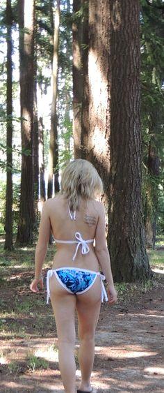 Josie Bikini Top and Silk Bikini Bottom.   www.etsy.com/shop/dubard.  Made in the USA!
