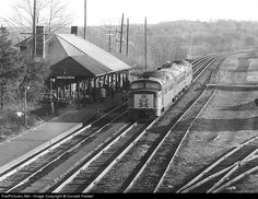 RailPictures.Net Photo: New York, New Haven & Hartford Railroad Roger Williams RDC at Canton Junction, Massachusetts by Donald Haskel