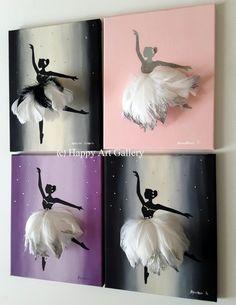 Kids Artwork, Kids Room Art, Child Room, Art Ballet, Ballerina Room, Pierre Decorative, Art Rose, Baby Girl Room Decor, Purple Art
