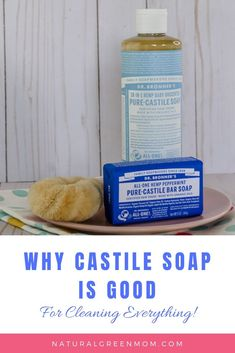 Castile Soap - what is it and why it is good. It's nontoxic, non-chemical, safe for kids, pets, and environment. This link gives recipes for cleaning everything with castile soap. Castile Soap Benefits, Pure Castile Soap, Cleaning Wipes, Cleaning Hacks, Natural Dog Shampoo, Best Cleaner, Moisturizing Shampoo, Cleaners Homemade, Soap Recipes