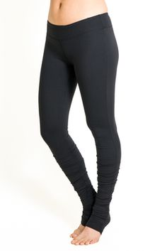 Flirt Skinny Yoga Tight (Black)