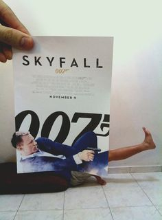 Hope everyone's gettin' back in the action nicely after the holidays. #007 #skyfall