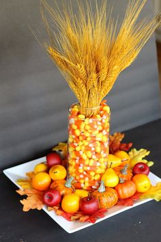 5 Simple Thanksgiving Centerpieces