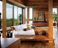 Architectural Digest ~ love this bedroom!