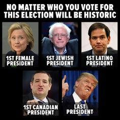 Funny 2016 Election Memes: No Matter Who You Vote For