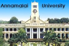 The annamalai university located at Annamalainagar, east of Chidambaram in Tamil Nadu is a unitary, teaching, and residential university. It has forty-nine Departments of Study and over 3240 members including teaching staff and others. The University campus is composed of hostels, playgrounds and extended over an area of about thousand acres. It has known for proving better way of learning and produced a large number of talents every year.