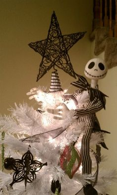 Jack Skellington from A Nightmare Before Christmas, Christmas Tree.