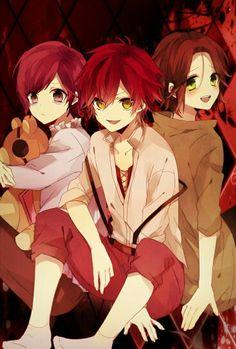Diabolik Lovers Laito Sakamaki And Ayato Kanato Anime Pixiv Fanart Kids Freind Cute
