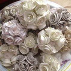 Paper made roses