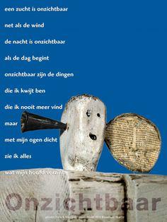 Plint - poëzieposter Onzichtbaar hans en Monique Hagen