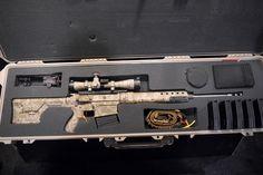 .300 win mag AR 10 Tactical Rifles, Firearms, Shotguns, Big Guns, Cool Guns, Ar 10 Rifle, 300 Win Mag, Winchester, Battle Rifle