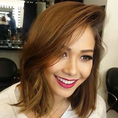 Maja Salvador, Brunette Hair, Beauty Queens, Character Inspiration, Short Hair Styles, Hair Cuts, Lily, Actors, Face