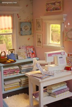 SEWING TIME BEDROOM :)
