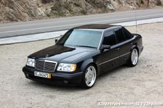 Someday, not very far i will have this Porsche-build Mercedes 500E in my garage. The best merc ever built.