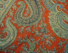 Dressmaking Light Weight Chiffon Wide Fabric Orange Craft Sewing By The Ya Chiffon Fabric, Cotton Fabric, Orange Craft, Orange Quilt, Orange Pattern, Sheer Fabrics, Paisley Print, Dressmaking, Sewing Crafts