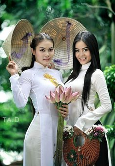 traditional ao dai; my favorites