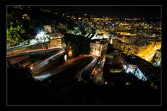 Napoli night lights by Fabio Calabrese on 500px