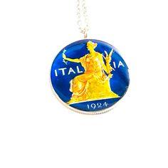 Mail Sign, Coin Pendant, Jewelry Box, Cufflinks, Coins, Italy, Jewellery Box, Jewel Box, Italia
