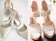 Elegant Wedding Shoes In White