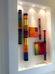 Myra Burg Collaborates with Liz Cummings to create collections like this one: Atmosphere Series