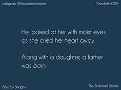 When your father understands you the most! Heart Touching Story, Touching Stories, People Quotes, True Quotes, Tiny Stories, Short Stories, Daddy Daughter Quotes, Savage Quotes, Tiny Tales