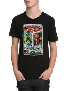 Avengers Age Of Ultron Hulk Vs Hulkbuster T-Shirt