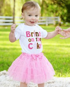 Girls First Birthday Onesie by Mumsy Goose by MumsyGoose on Etsy, $14.95