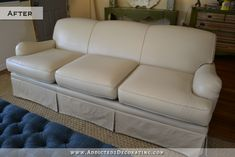 painted upholstered sofa, outdoor furniture, painted furniture, Sofa painted with latex paint with fabric medium added Paint Furniture, Furniture Makeover, Couch Makeover, Furniture Usa, Refinished Furniture, Furniture Repair, Furniture Refinishing, Furniture Stores, Furniture Projects