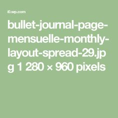 bullet-journal-page-mensuelle-monthly-layout-spread-29.jpg 1 280 × 960 pixels