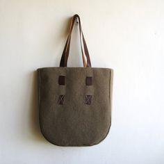Over Size Felt Bag